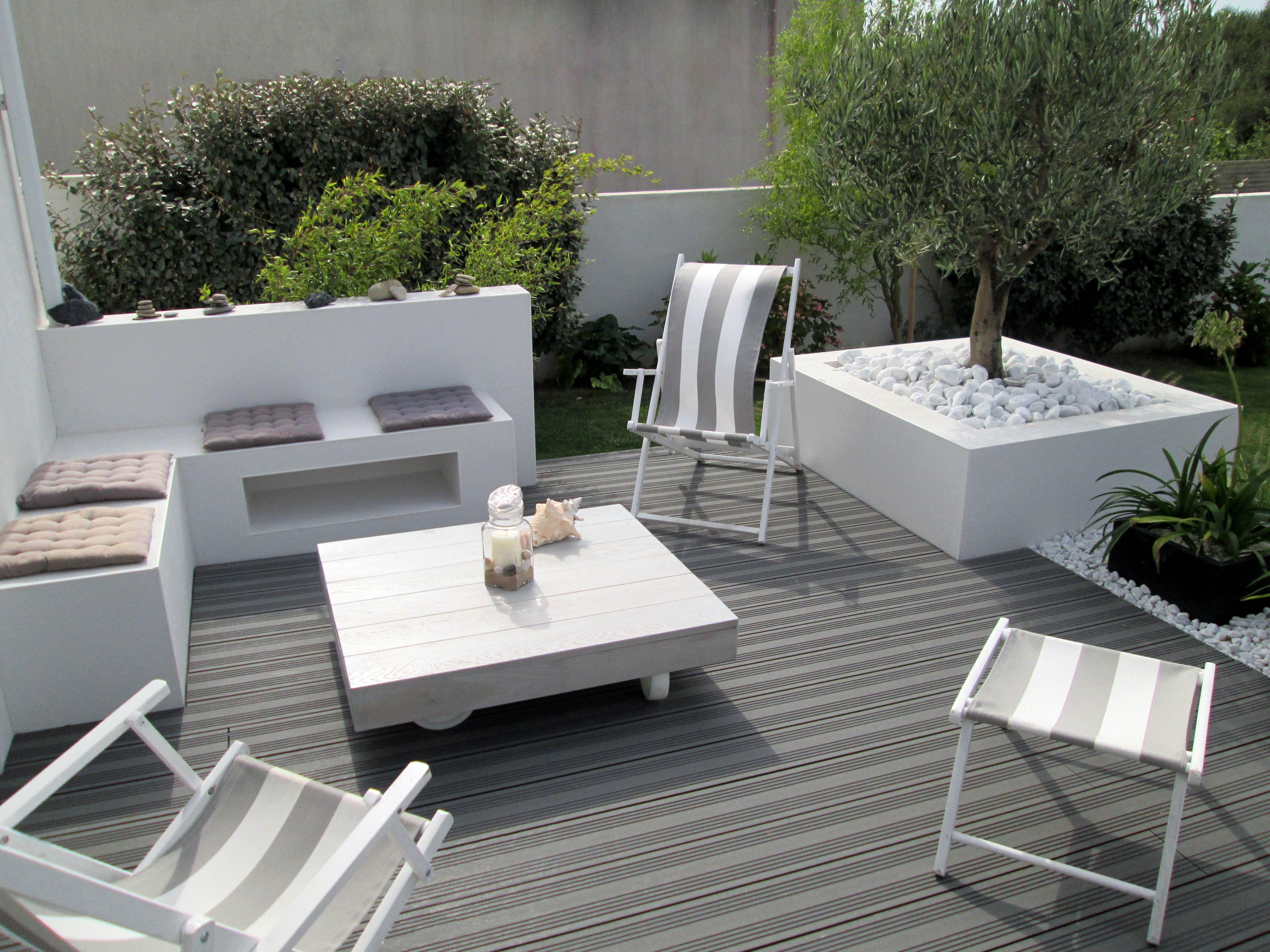 Ocewood® - Terrasse composite Optima - Anthracite. Crédits : Seven ...