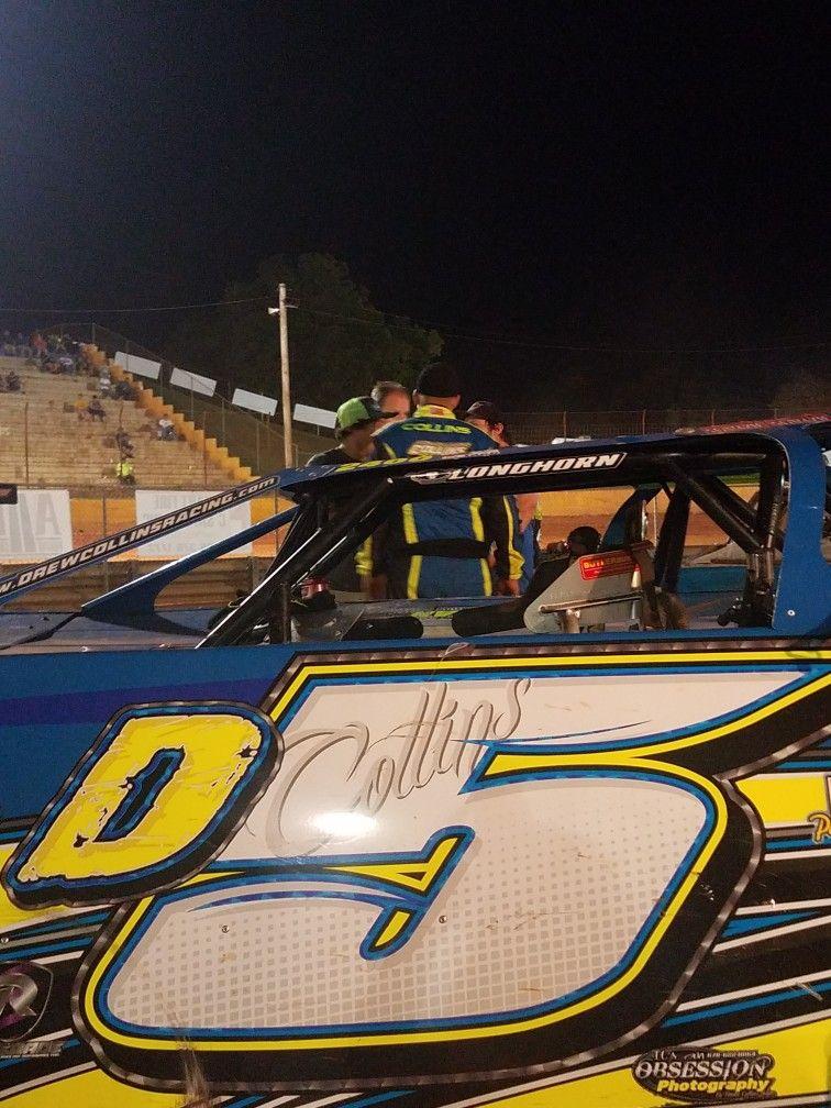 Lavonia speedway drew collins dirt track racecar