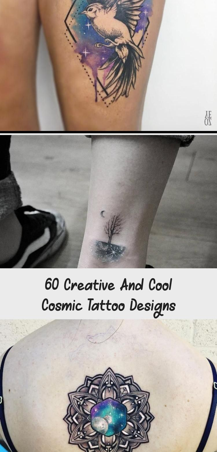 60 Creative And Cool Cosmic Tattoo Designs – Tattoos and Body Art