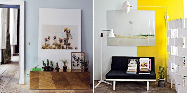studio uwe gaertner blog: Interieur: Wohnung von Jean-Christophe Aumas in Paris