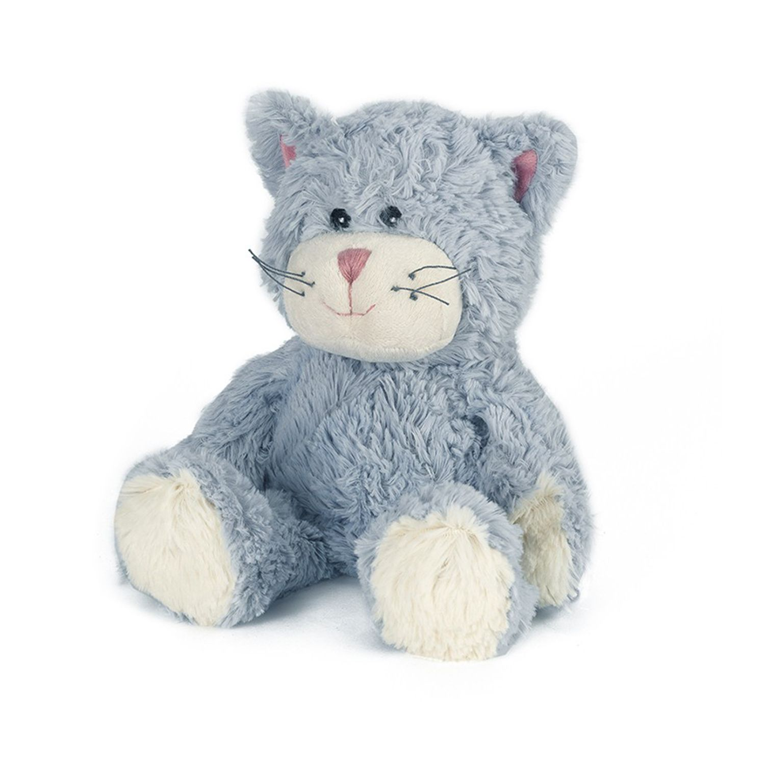 Warmies Plush Blue Cat Microwavable Soft Toy (With images