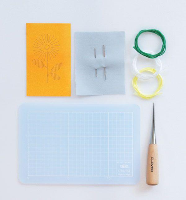 紙刺繍道具セット net store アンナとラパン powered by BASE 紙刺繍