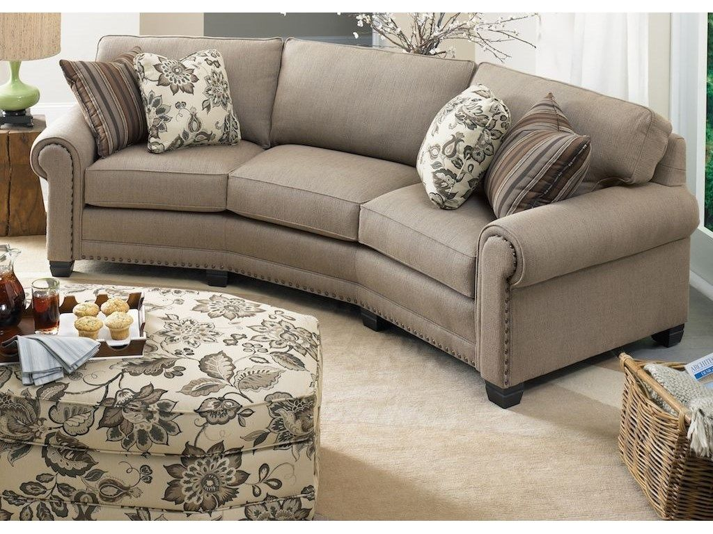 Smith Brothers Living Room Conversation Sofa 393 12 Art Sample Home Saginaw