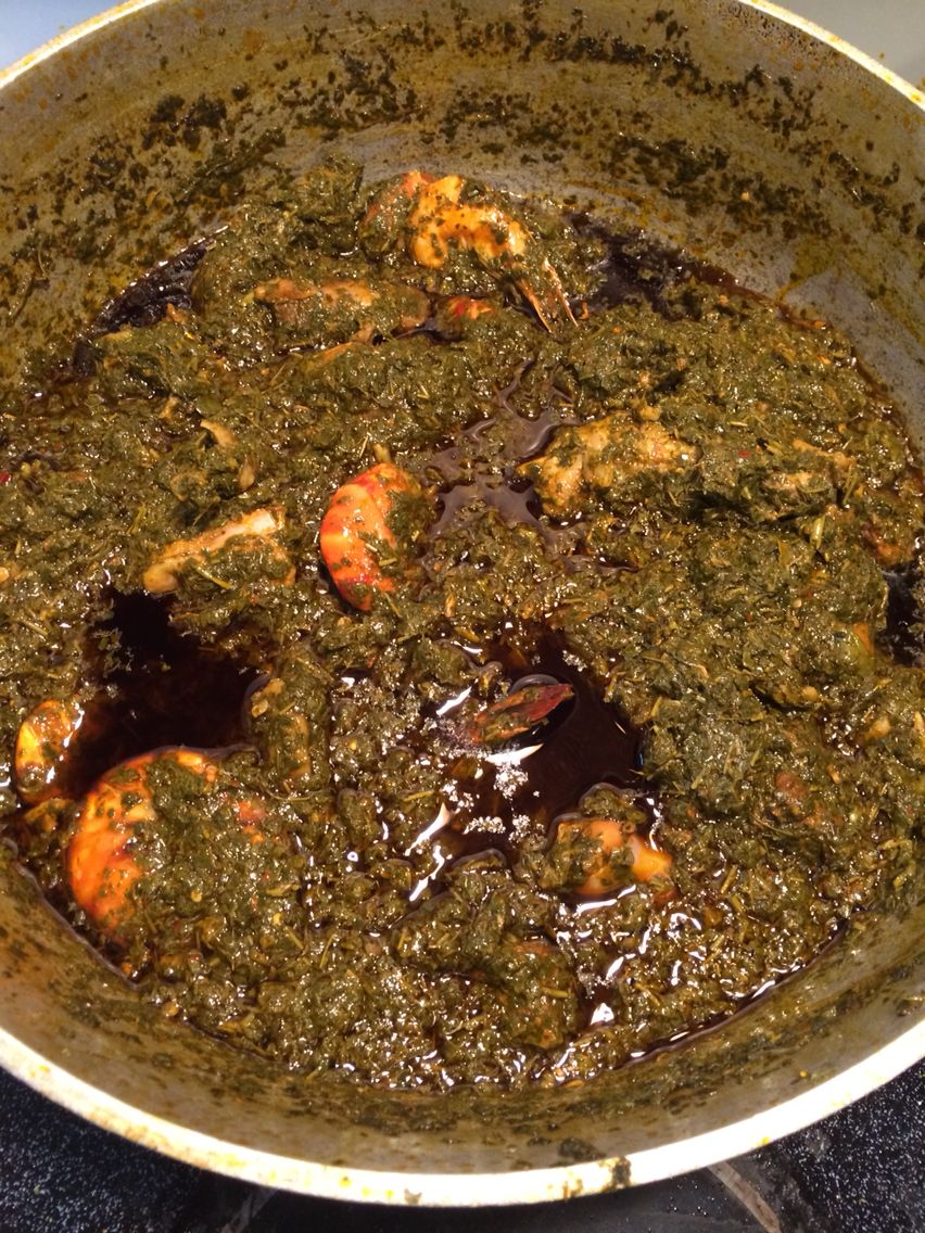Cassava Leaves African Food African Cooking West African Food
