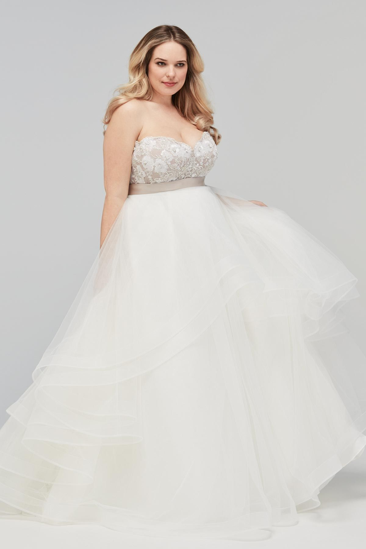 Plus Size Bridal Gown - the Maelin Corset with the Amira Skirt by ...