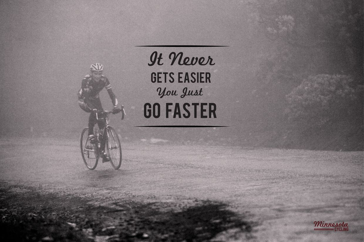 Train Harder Go Faster Simple Enough Cycling Quotes Triathlon Quotes Bicycle Quotes