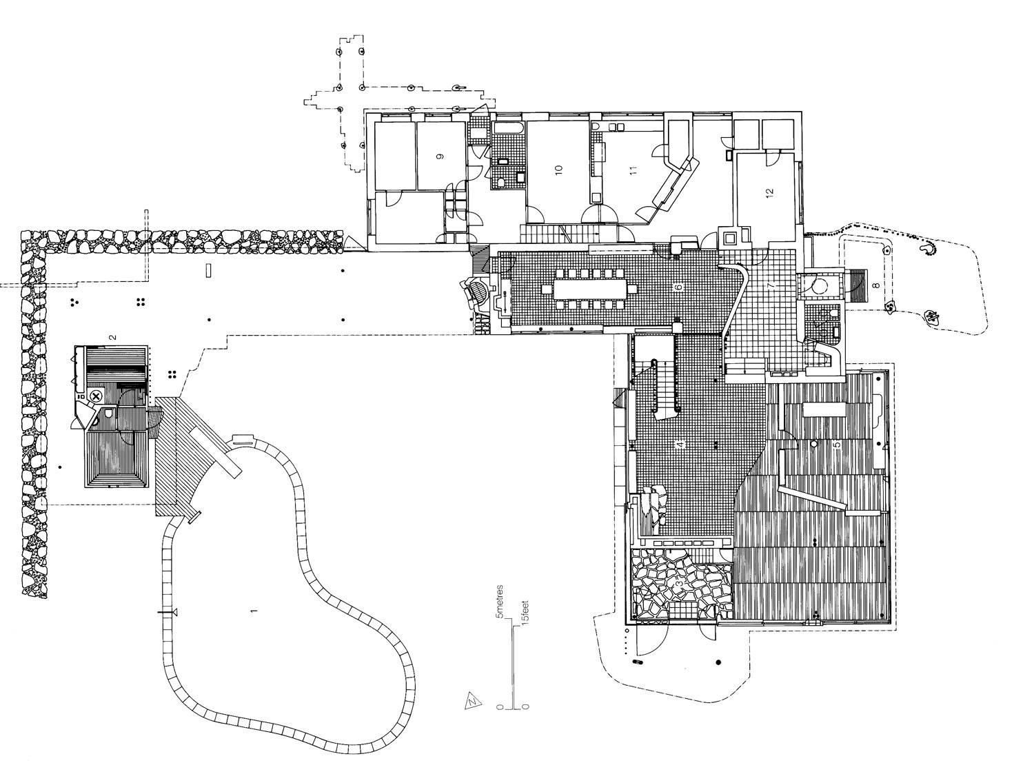 aalto house plan mairea google search - Alvar Aalto House Plans