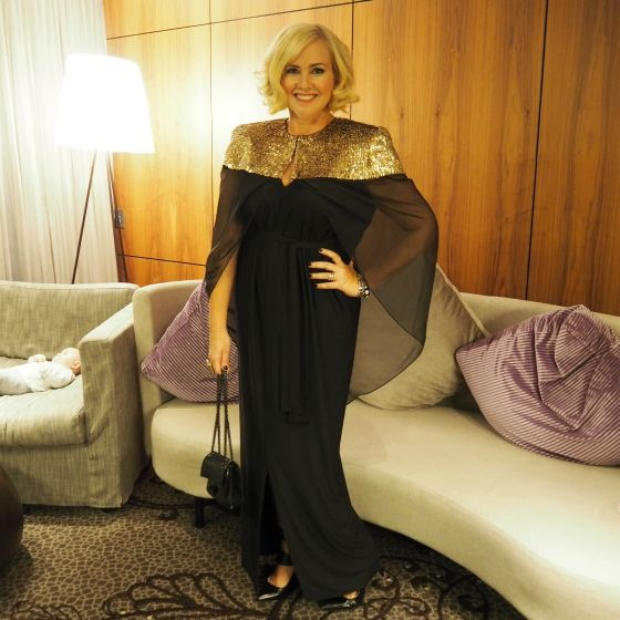 d1f6fc6d294 Nikki Parkinson - Telstra Business Awards 2015 - sass and bide cape