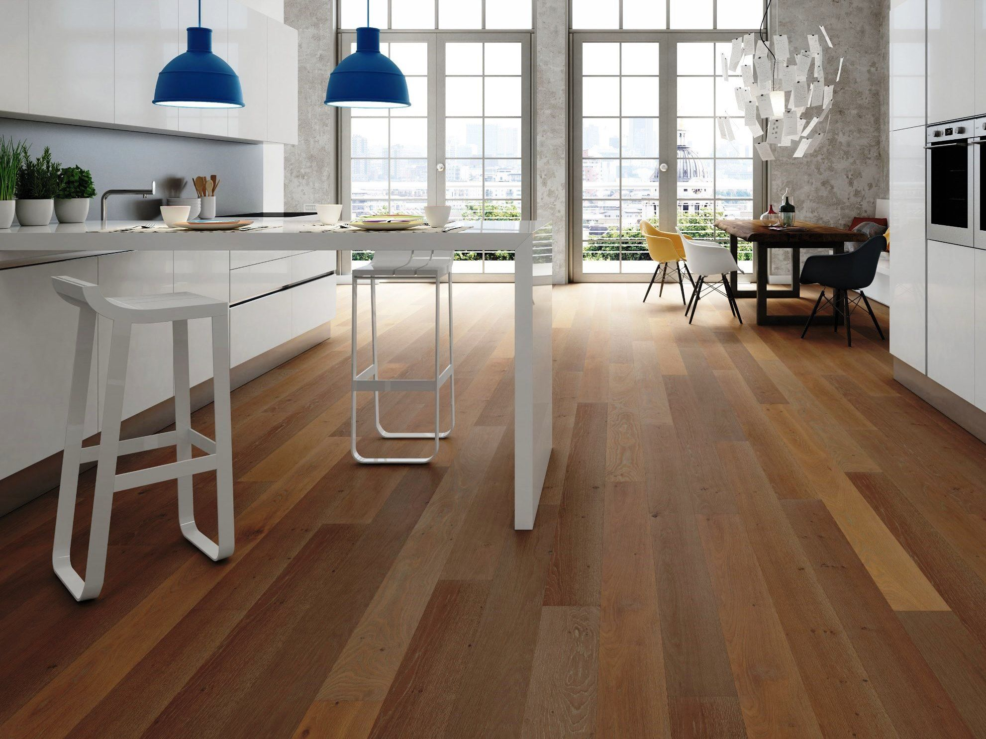 Collection Dream 160, parquet Rovere Fancy by Woodco.