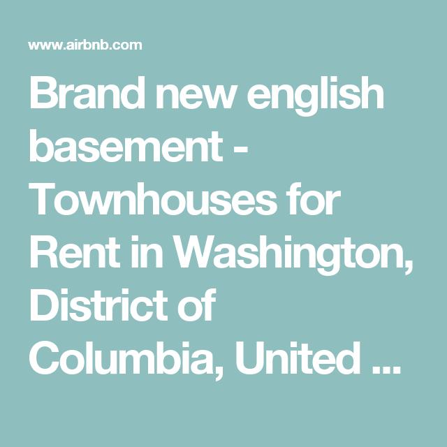 Brand New English Basement