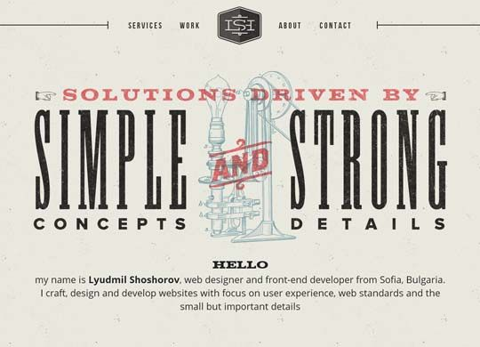 Cool Retro Vintage Style Websites For Inspiration Vintage Website Design Victorian Web Design Web Design