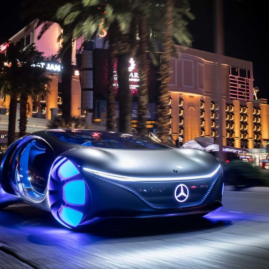 Top 10 Luxury Sports Cars: Welcome To The Future With The New Mercedes VISION AVTR In
