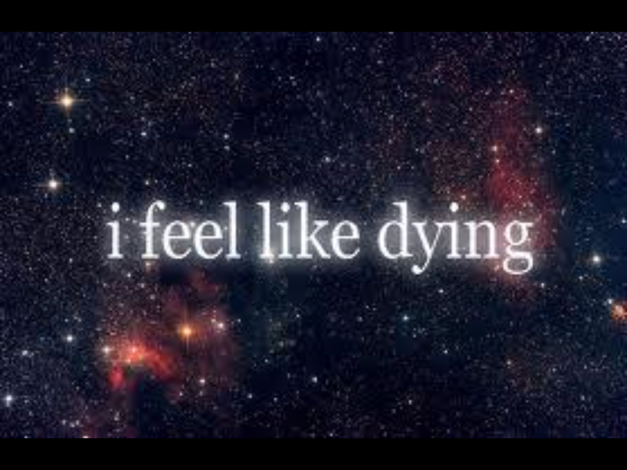 I need help. I feel like dying.?