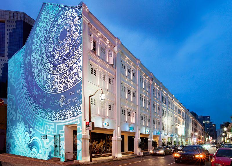 Singapore-Porcelain Hotel. Mooie geschiedenis en bijzonder hotel.