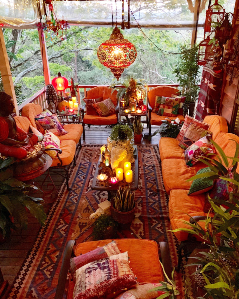 Photo of Home Tour: Stunning Maximalist and Boho Chic Home ~ The Keybunch Decor Blog