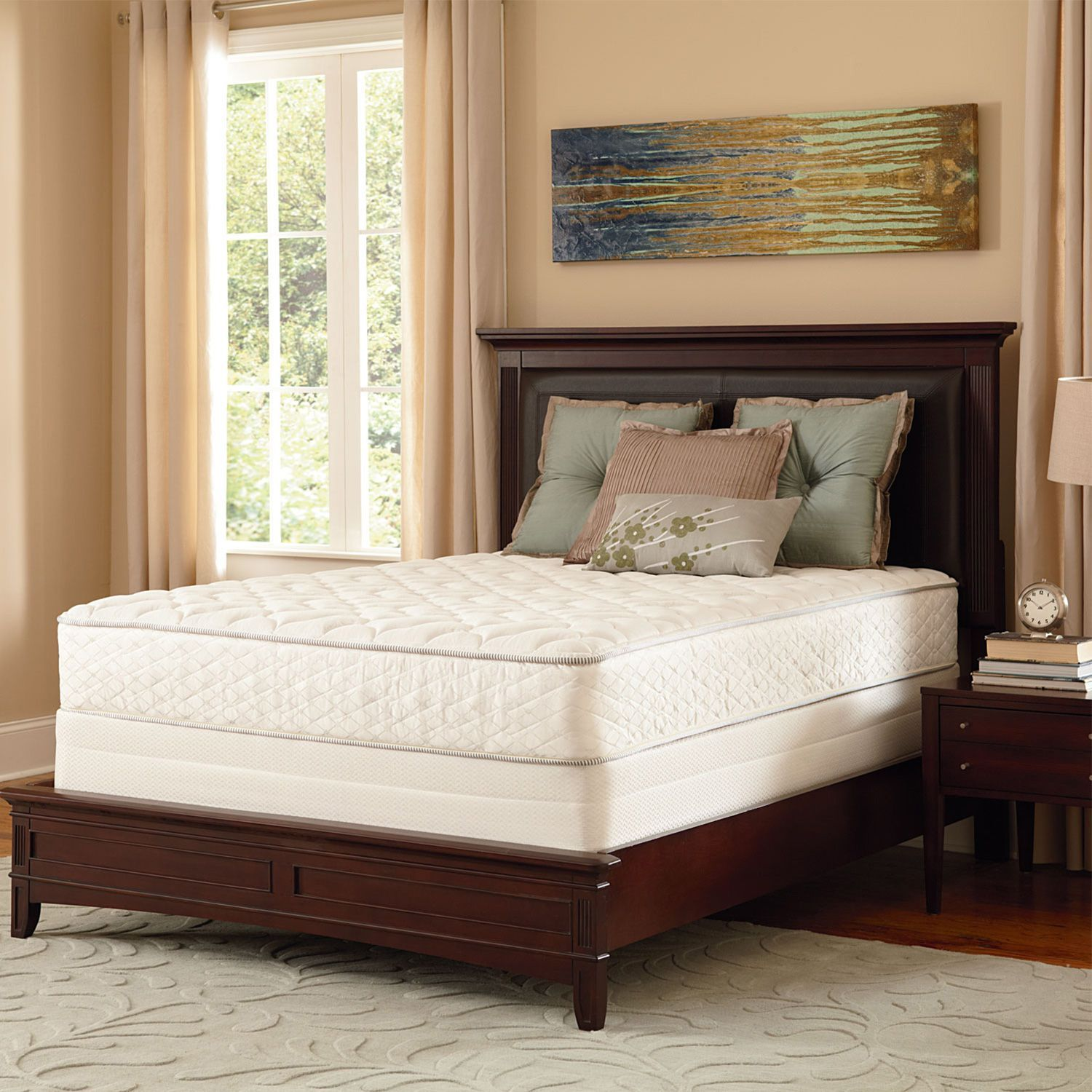 Serta Perfect Sleeper Aberdeen Firm Mattress Set Full