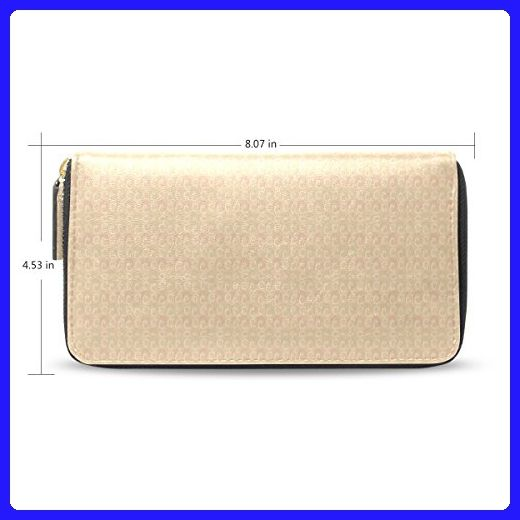 leezone micro fiber leather wallet purse with cloud printing