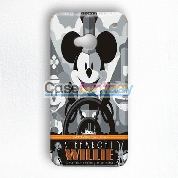 Steamboat Willie Tom Whalen Disney Mickey Mouse HTC One M7 Case | casefantasy