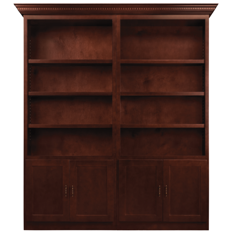 I Love The Look Of This Large Dark Wood Bookcase I Like How It Looks Like It Could Fit A Lot Of Books On It Wood Bookcase Dark Wood Bookcase Wood