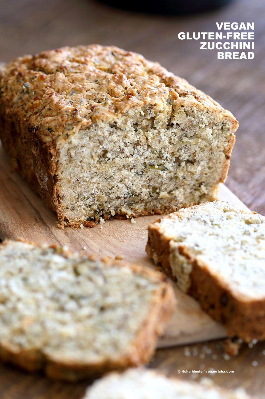 Vegan Gluten Free Zucchini Bread Recept Glutenvrij Brood