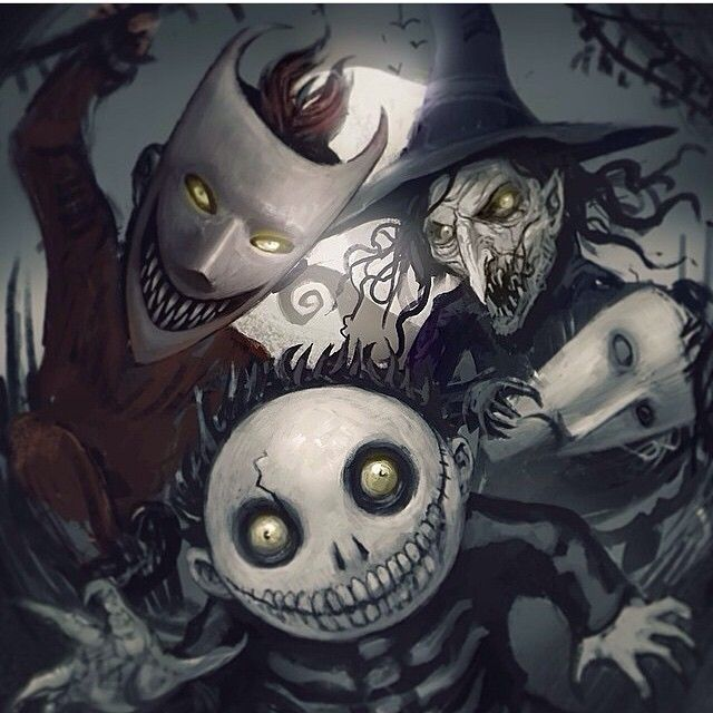 The Nightmare Before Christmas / Characters - TV Tropes |Nightmare Before Christmas Characters Barrel