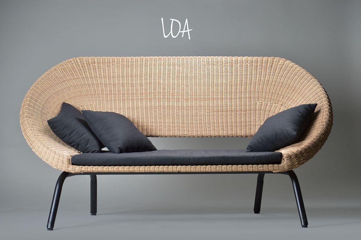 Loa Is An Outdoor Furniture Set Which Has Been Designed To