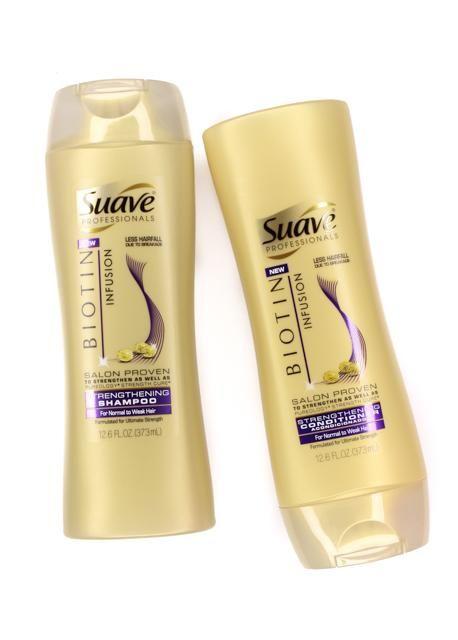 New Suave Professionals Biotin Infusion Shampoo Conditioner Suave Hair Products Shampoo Biotin Shampoo