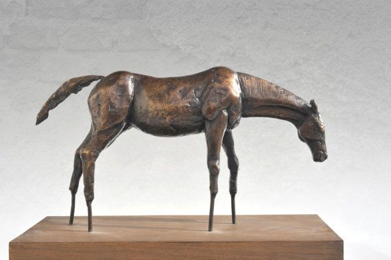 Bronze statue of horse  limited edition fine art by Fausova, $2660.00