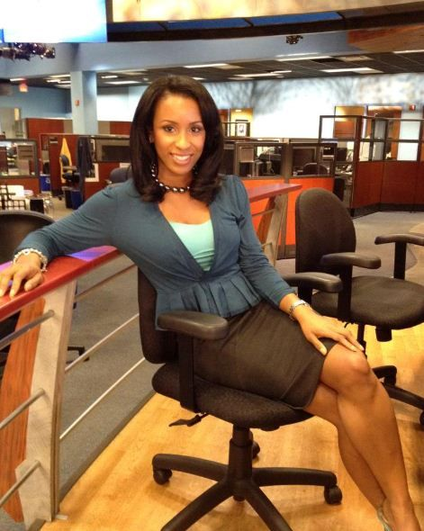 News Reporteranchor Beauty Michelle Marsh Shades Of Black Beauty