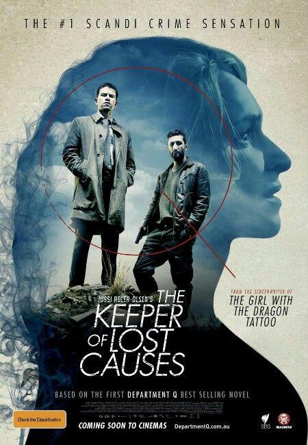 Department Q The Keeper Of Lost Causes 2013 Aka Kvinden I Buret Danish Crime Thriller Movie Starring Nikolaz Lie Kares Fares Fares Re Film Muziek Boeken