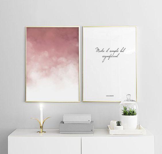 Pinterest Sian Taylor Minimalist Wall Decor