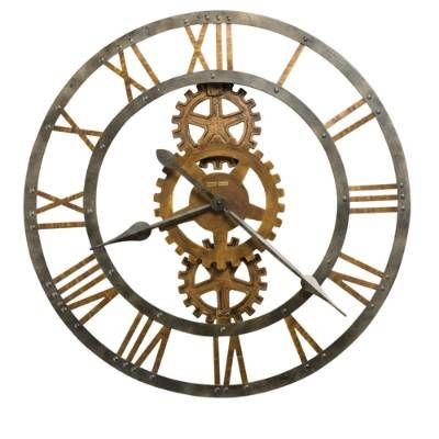 Crosby Wall Clock Grandin Road Gear Wall Clock Industrial Clock Wall Oversized Wall Clock