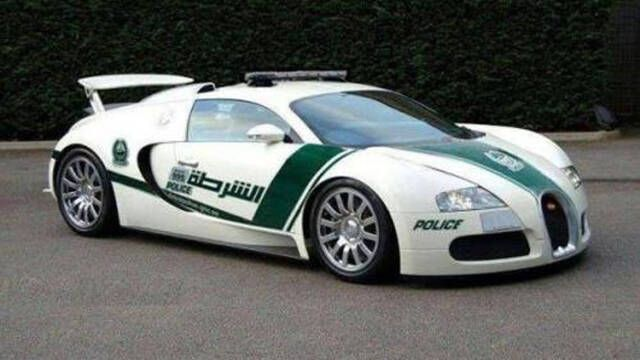 The Dubai Police add a Bugatti Veyron to the fleet. An enigma: the world's most impractical yet capable cop car.