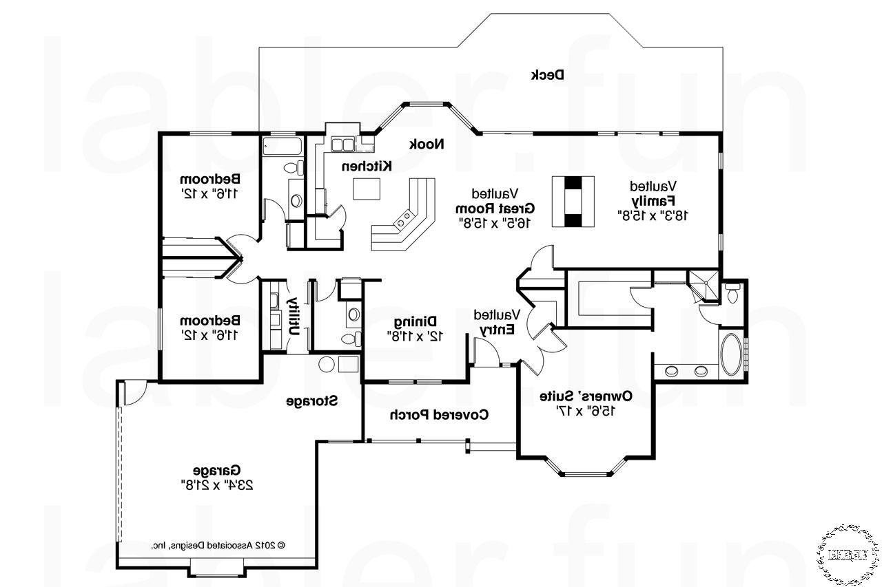 Ranch Floor Plans 2 Master Suites Floor Plans Ranch Building Plans House Ranch House Floor Plans