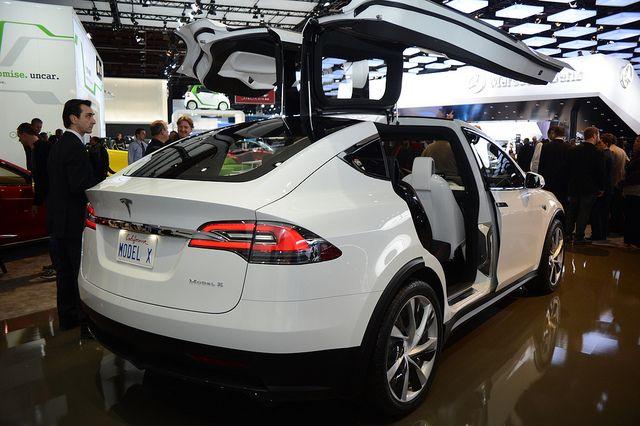 Tesla Model X Concept Tesla Model X Tesla Model Tesla Suv