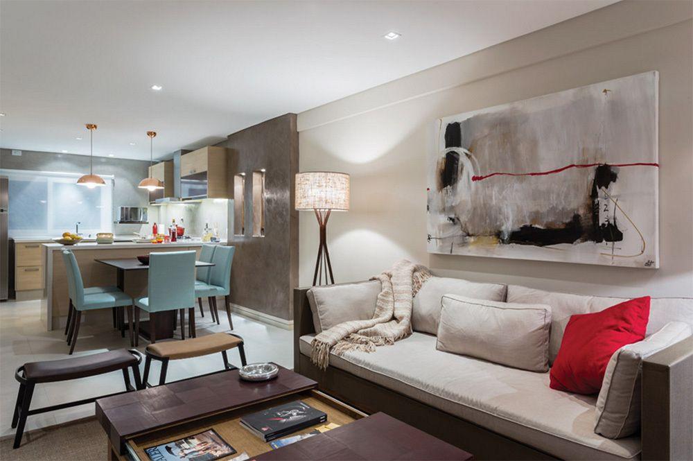 Claves para iluminar un espacio integrado home - Iluminacion para cocina comedor ...
