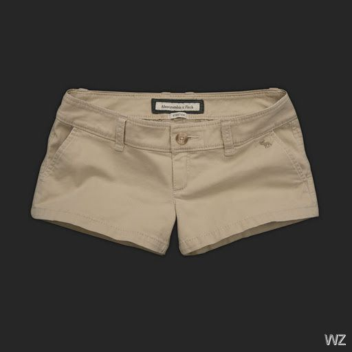 black khaki shorts for women - Google Search | Abercrombie & Fitch ...
