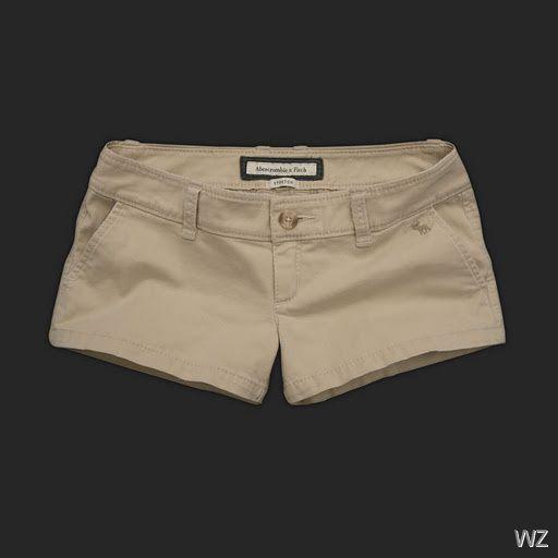 black khaki shorts for women - Google Search | Abercrombie & Fitch ...