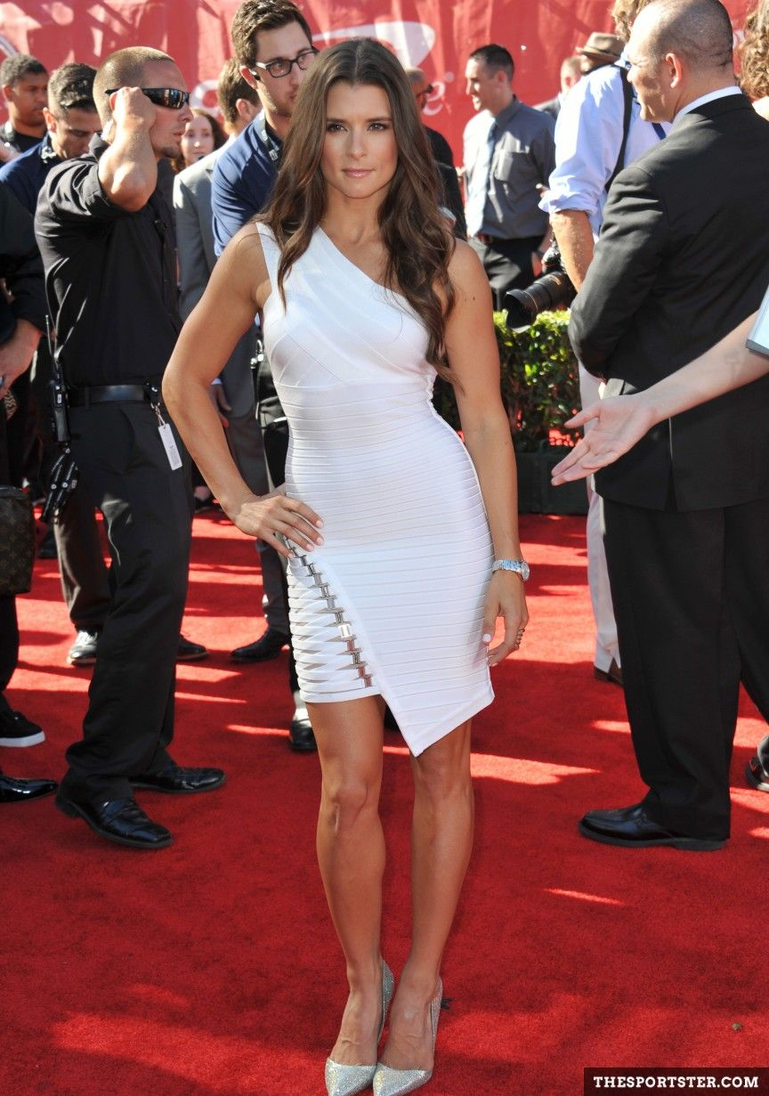 Pin By Danica Pack On The Red Carpet In 2020 Black Leather Pencil Skirt Danica Patrick Beautiful Celebrities