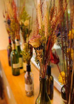 Como decorar a casa com flores secas ideias de decora o - Flores secas para decorar ...