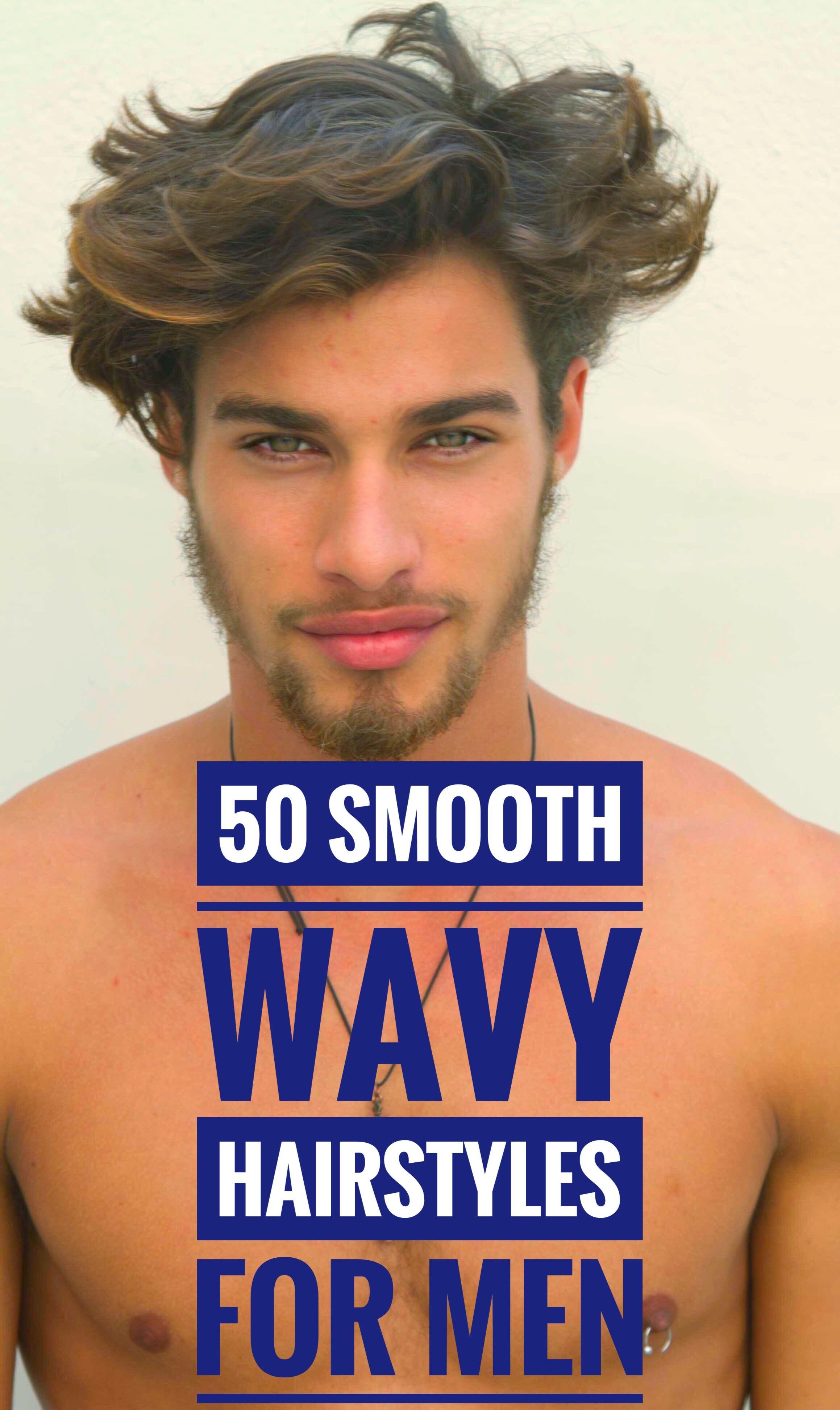 50 smooth wavy hairstyles for men wavy hair men mens