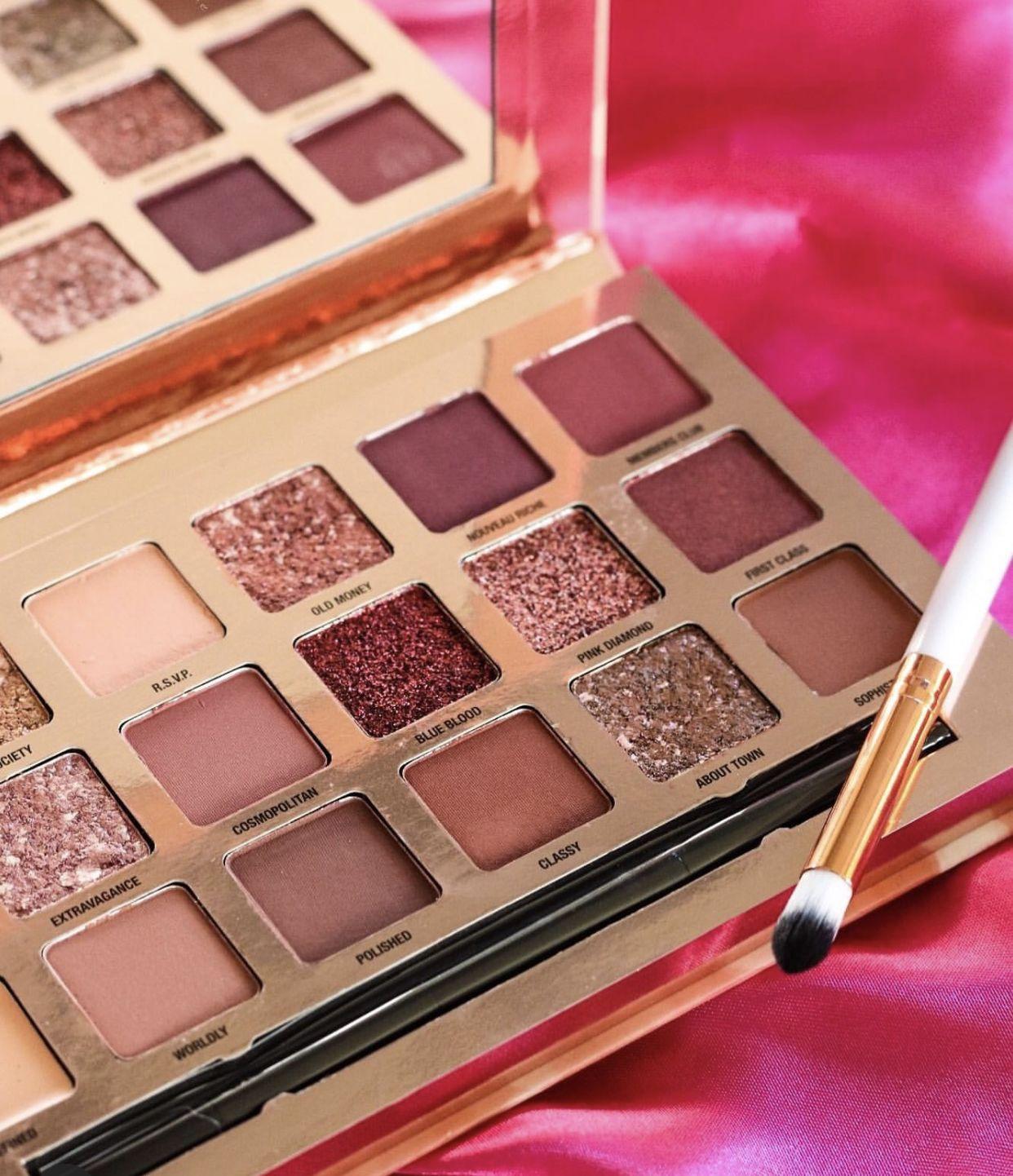Paletas de Sombras profesionales - Curso de Maquillaje Online