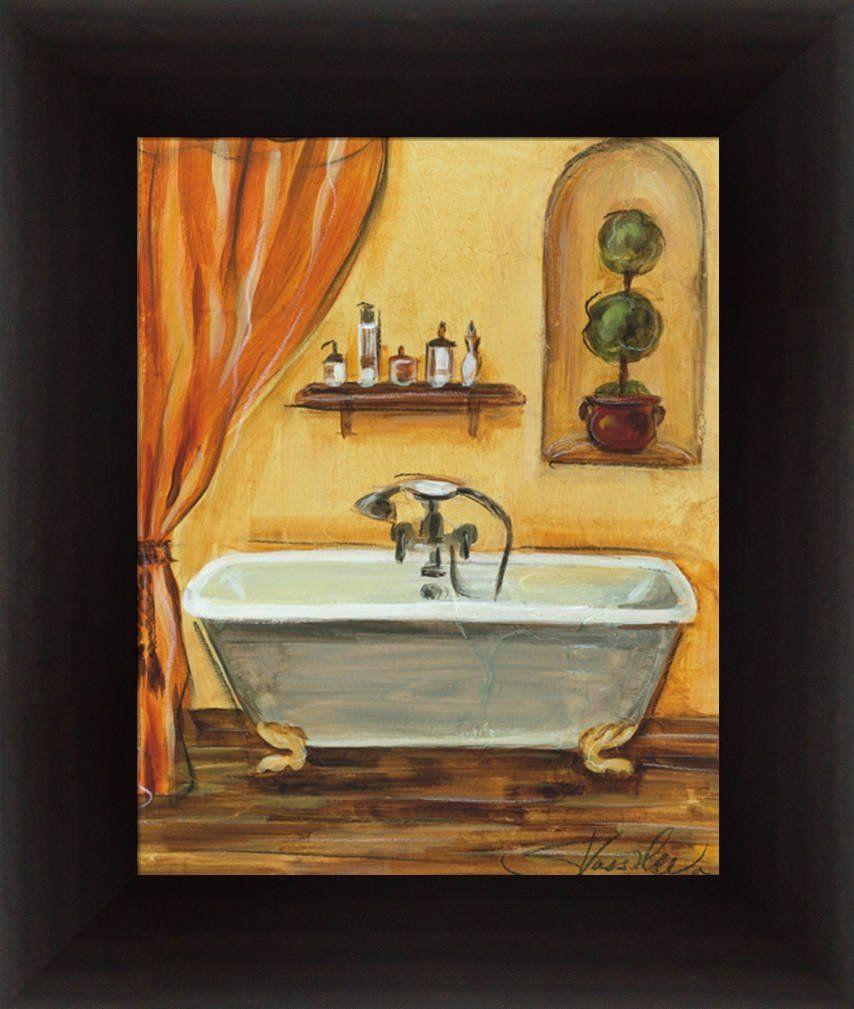 $18.95 + $10.95 shipping Amazon.com - Tuscan Bath I by Silvia ...