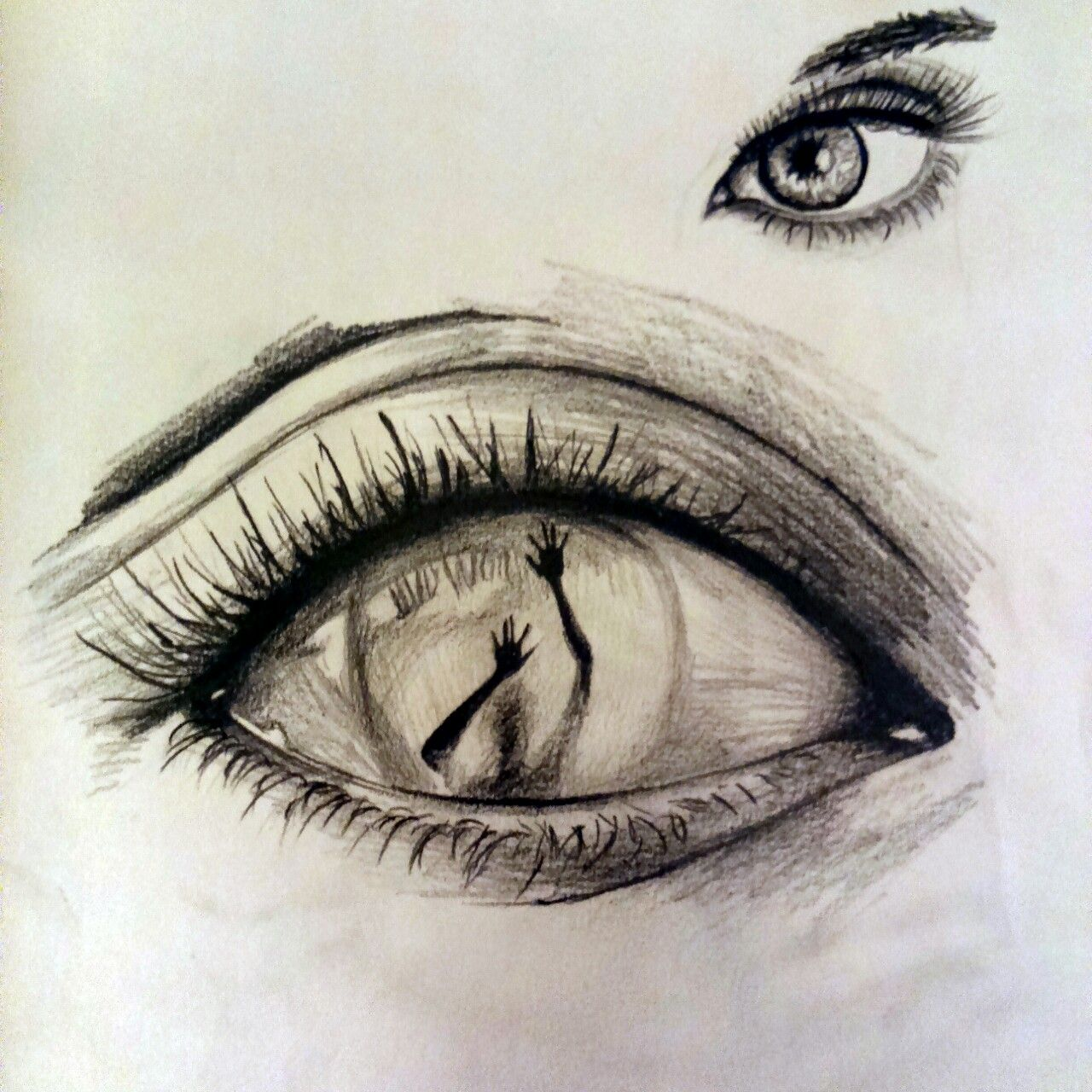Resultado de imagen de drawing ideas tumblr eyes for Pencil sketch ideas
