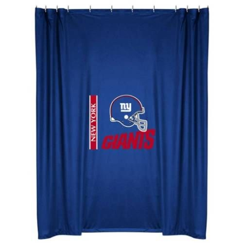 Sports Coverage 01jrshc1gia7272 New York Giants Shower Curtain In