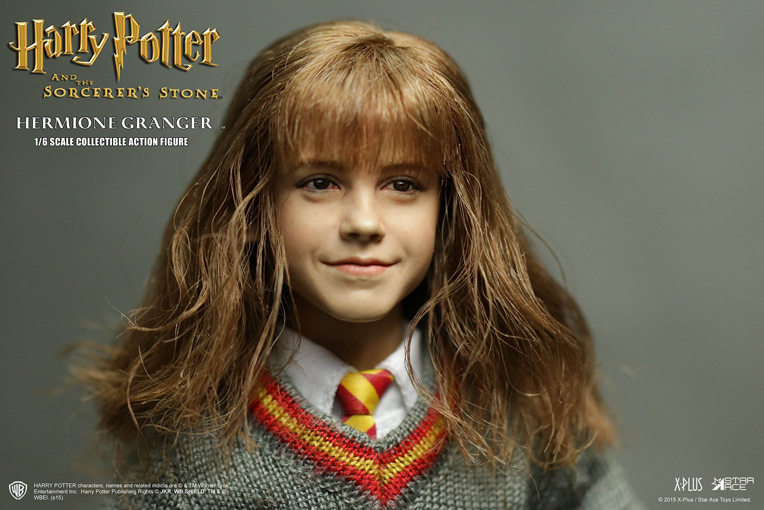 Star Ace Toys Harry Potter And The Sorcerers Stone Hermione Action Figure 1 6 Scale You Can Discover Even Hermione Granger Harry Potter Dolls Harry Potter