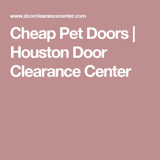 Houston Door Clearance Center