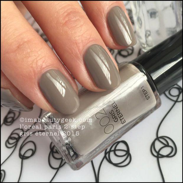 L Oreal Paris Infallible 2 Step Nail Colour Part Deux Nail Polish Nail Colors Loreal Paris
