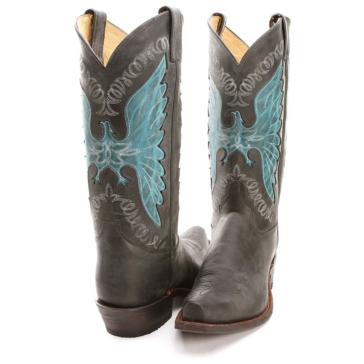 BootDaddy Collection with Tony Lama Black Phoenix Cowboy Boots