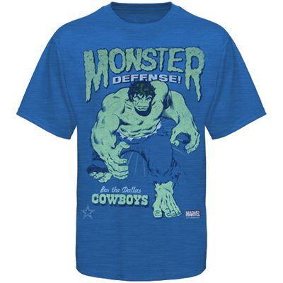 Dallas Cowboys Hulk Stance T-Shirt - Royal Blue  Fanatics  b0a1d9aa3